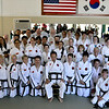 Portland Blackbelt Test, June 7th 2014 - Group Photo with GreatGrandmaster Kim