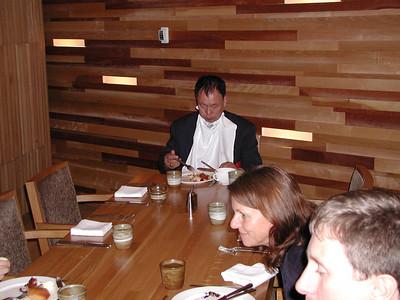 Grand Master Kim, Dinner in Seoul