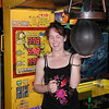 Nancy Henkel had the high score(778) for the night on the punching bag
