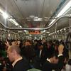 Riding the subway in Seoul, Korea