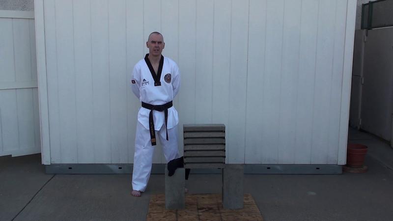 Tom Jensen 4th Black Belt