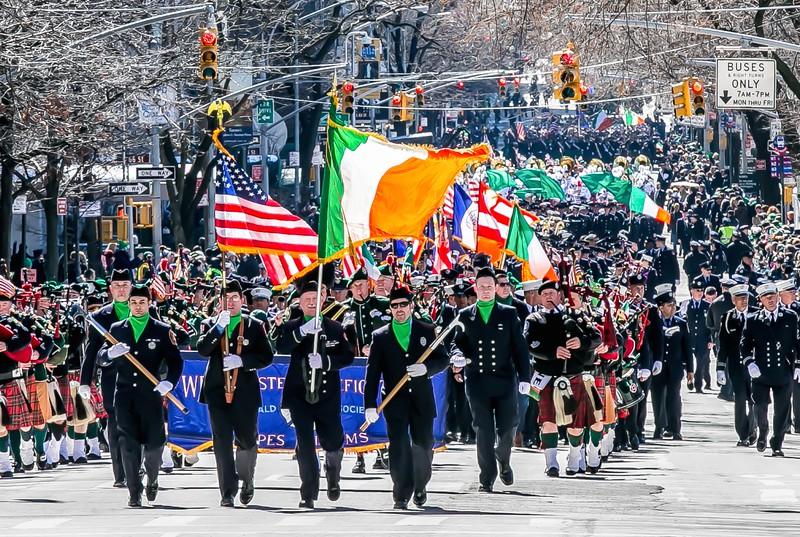 老鹰- St. Patrick's Day Parade