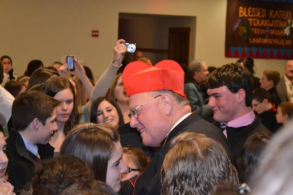 More Snaps TLC Teen Mass w Cardinal Dolan