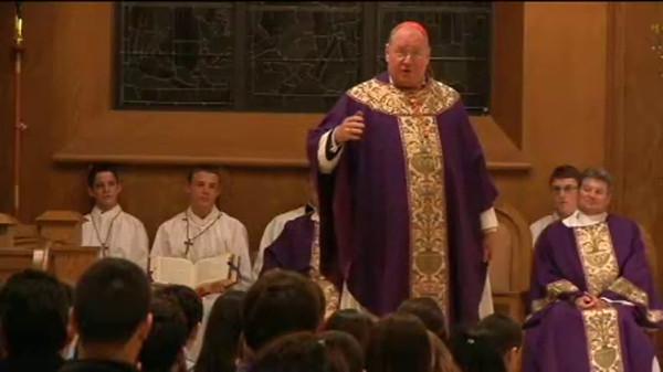 Teen Mass with Cardinal Dolan FEB 26.2012 - YNN News Video