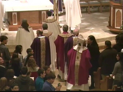Teen Mass with Cardinal Dolan -  Cablevision Video