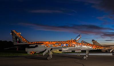 TLE Cosford Jaguar night shoot
