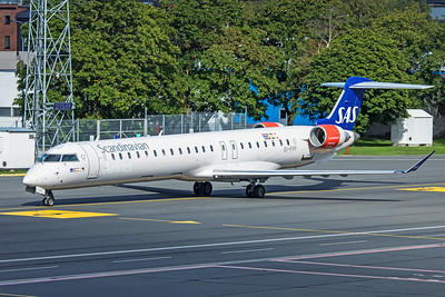 SAS Scandinavian Airlines Bombardier CL-600-2D24 CRJ-900LR EI-FPF 8-20-19