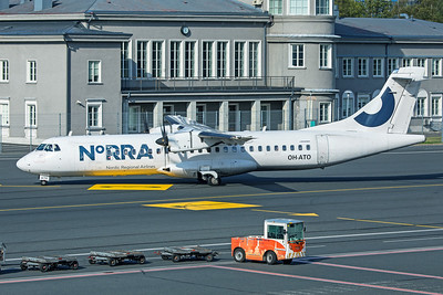 NORRA - Nordic Regional Airlines ATR 72-500 OH-ATO 8-20-19