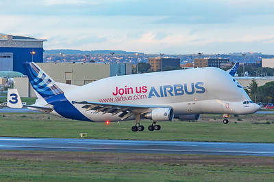 Airbus Transport International Airbus A300B4-608ST F-GSTC 11-14-19