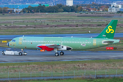 Spring Airlines Airbus A320-251N B-30D7 F-WWBD 11-14-19