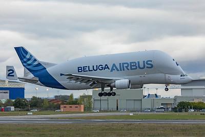 Airbus Transport International Airbus A300B4-608ST F-GSTB 11-14-19