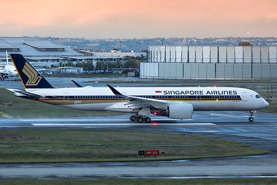 Singapore Airlines Airbus A350-941 F-WZNT 9V-SJA 11-14-19