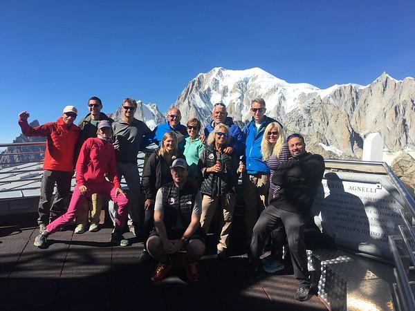 Tour du Mont Blanc 2018