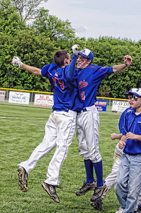 James Fultz & Joe Hook celebration