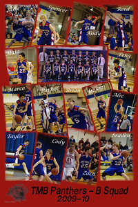 TMB Panthers B Squad Poster (2009-10 season) - 12x18