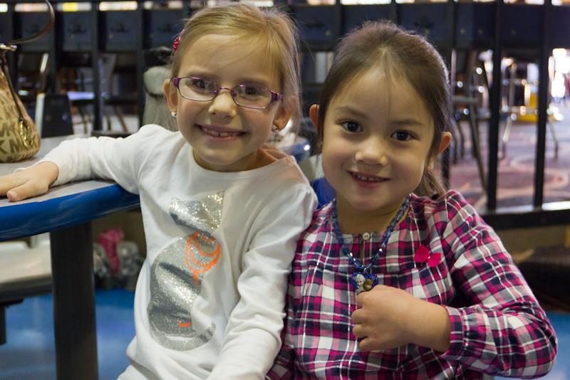 November 8, 2015 - Alexandra and Sophie.