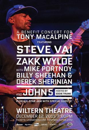 Tony MacAlpine Benefit Concert