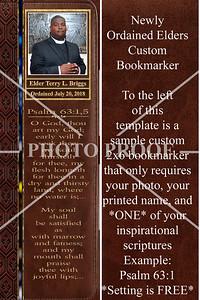 SAMPLE BOOK MARKER-1001