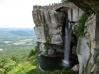 Waterfall at Rock City