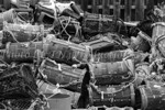 Fishing Creels - greyscale