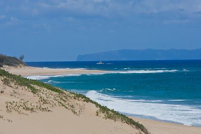 The Hawaiian Islands.