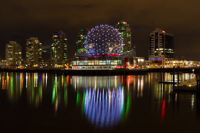 Vancouver Science World on False Creek