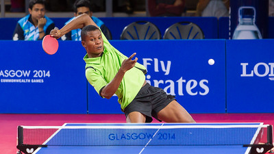 A Big Return in Table Tennis, Glasgow