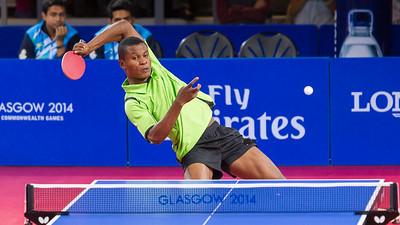 A Big Return in Table Tennis, Glasgow