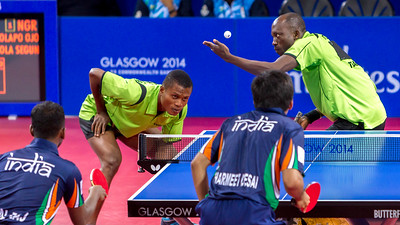 Table Tennis Action at its Best.