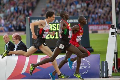 10,000 meter Finish Line