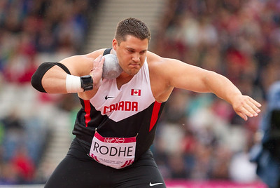Canadian Shot Putt in Glasgow