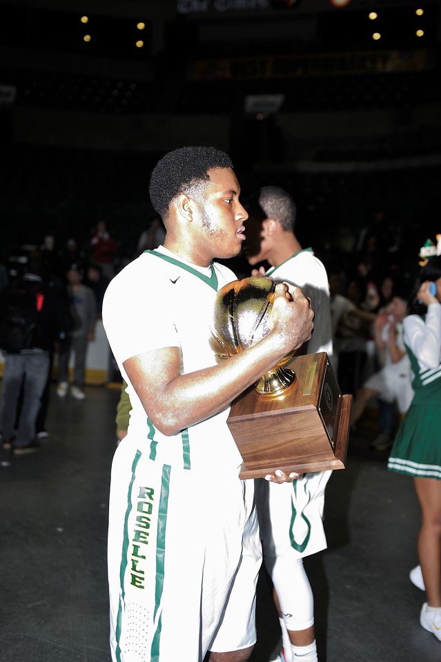 RJ Franklin is still holding on to that trophy.