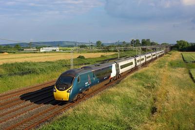 390050 working 1C94 1757 London Euston to Lancaster at Ledburn on 8 July 2021  Class390, AvantiWestCoast, Pendolino, WCML