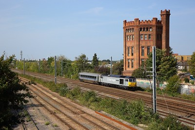 60046 powering the 5Z20 0848 Bristol Barton Hill to Wembley at Southall on 19 September 2020  Class60, DCRail, GWML