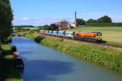 59203 powering 7A09 Merehead to Acton Yard at Crofton on 14 July 2021  Class59, Freightliner, BerksandHants, BandH