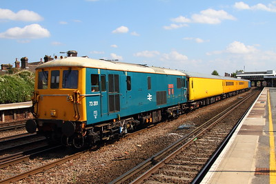 73201 tnt 73109 1Q58 Hither Green to Hither Green at Tonbridge on the 29th September 2013