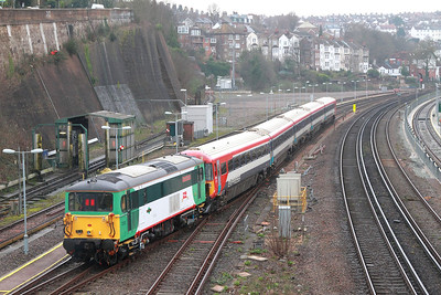 73202+442402 on the 1Z46 1453 Brighton to Brighton via Lovers Walk depot and Preston Park going through Lovers Walk on 12th March 2017