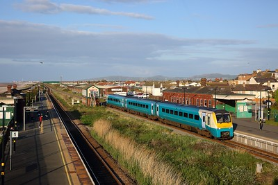 175105 on the 1W95 1521 Cardiff Central to Holyhead at Abergele on the 4th May 2019