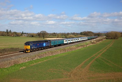 47813+977097+769003+975875+6340+6344+6338+6330 on 5Q78 0957 Loughborough Brush to Cardiff Canton at Highnam on the 16th March 2020