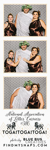 Toga! Toga! Toga! Snapping photos with #bluebuscreatives. Love this photo? Order prints @ findmysnaps.com/TOGA-Letter  Interested in a photo booth for your next event? Visit http://www.bluebuscreatives.com for more info!