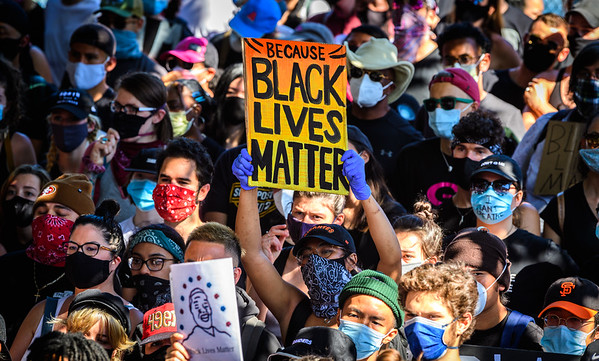 2020 BLACK LIVES MATTER PROTEST