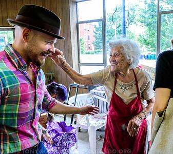 2015 FUN: BUFFALO AND GRANDMA ROTUNDO'S 100TH!