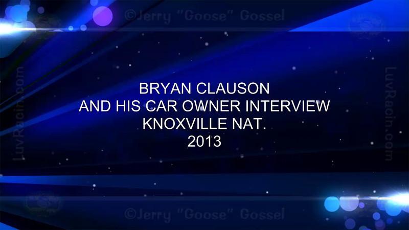 BRYAN CLAUSON NAT. 08-09-13