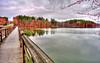 lake Jeanette foot bridge