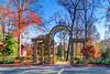 GSO Arboretum gate