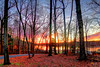 Lake Brandt sunset