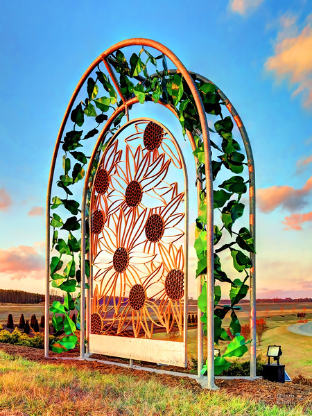 Sunflower Gate III