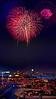 1970 Detroit River fireworks