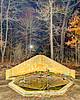 January fountain