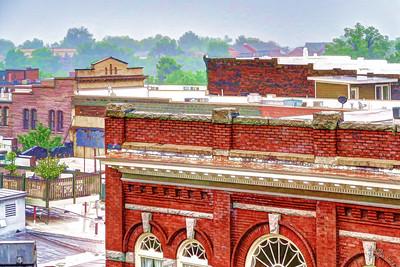 Greensboro roof tops